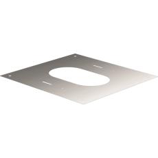 Plaque carrée de finition de 30° à 45°