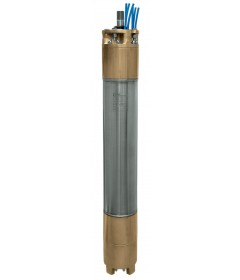 "8"" Rewindable water filled bronze-aluminium submersible motors"