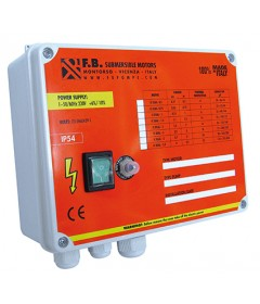 Single-phase high starting torque control panel
