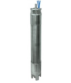 10'' Rewindable water filled stainless steel AISI 316 and duplex submersible motors