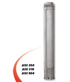 6'' Mixed-flow  stainless steel AISI 304, AISI 316 and AISI 904 electropumps