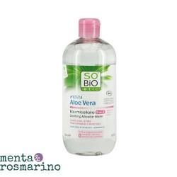 SO'BIO ETIC Aloe Vera Acqua Micellare Lenitiva 500 ml