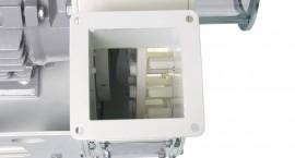 Estructura muy robusta, equipada con dientes hexagonales, para un mejor impacto en las placas del producto. Rotor equilibrado para eliminar las vibraciones.