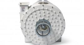 Completa de indicador de serie, para la visualización del producto en entrada, con guarnición para instalaciones en transportes neumáticos en presión.
