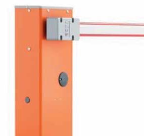 Sistema alzabarriera elettromeccanico per il controllo degli accessi stradali