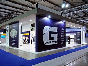 Large number of visitors in all four days during MCE at Galletti Group booth