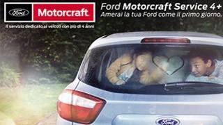 Per le vetture con più di 4 anni... Motorcraft 4+!