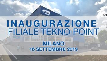 Inaugurazione filiale Tekno Point di Milano