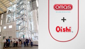 OMAS создал первый в мире завод по производству безглютеновой продукции, способный перерабатывать зерно и бобовые культуры для производства муки высшего сорта, и крупки для использования этих продуктов в пищевой промышленности