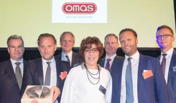 """Omas Steel Division """"Best Suppliers"""" alla Sesta Edizione degli """"Electrolux Awards"""""""