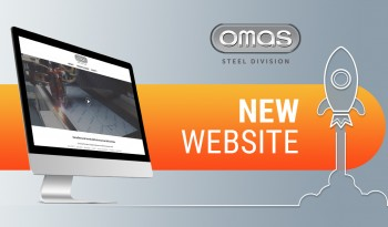 Steel Division launches its new website: a new graphic design for Omas division specialized in sheet metal working