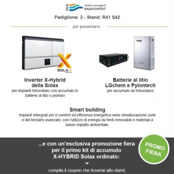 Energy srl alla MCE con lo SMART BUILDING