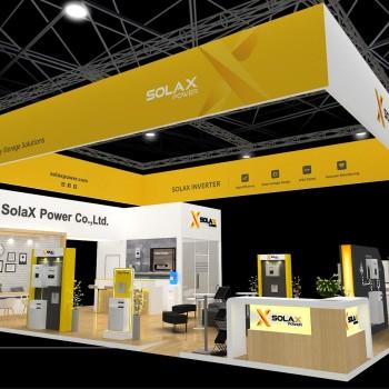 Energy presente presso lo stand Solax ad Intersolar