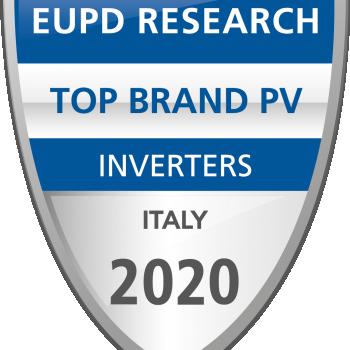 EuPD Research 2020 - Confermato a Solax Power Italia per gli Inverter ibridi e ora anche di stringa
