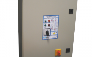 ELECTROMECHANICAL CONTROL PANELS FOR ELECTRIC PUMPS AND ENGINES