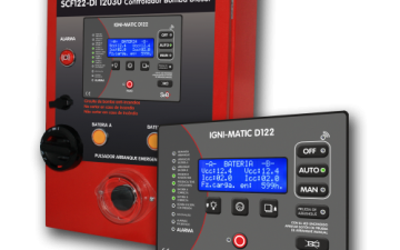 ELECTROPUMP AND MOTORPUMP FIRE-FIGHTING CONTROL PANEL