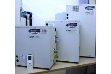 Climatizzatore invisibile Idra di Tekno Point: consumo d'acqua ridotto fino al 40%