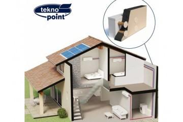 Elfo di Tekno Point, il climatizzatore con motocondensante installata all'interno dell'edificio