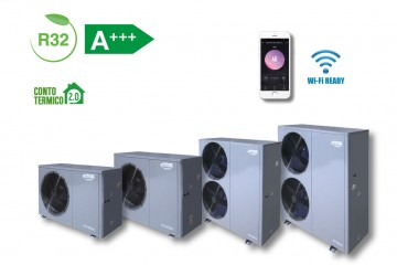 The new ATHENA R32 HEAT PUMP.
