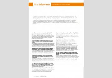 Intervista a Luigi Nalon, amministratore delegato di OMAS Industries