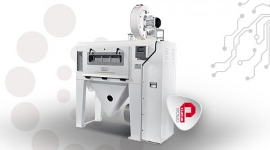 Giotto wheat steriliser: processes up to 30% faster with an important reduction in consumption!