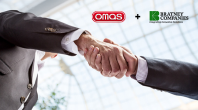 New Omas Industries systems throughout North America: an agreement has been signed with giant, Bratney Companies