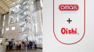 OMAS HAS CREATED THE WORLD'S FIRST GLUTEN-FREE MILL, ABLE TO PROCESS GRAINS AND LEGUMES FOR MAXIMUM FLOUR AND SEMOLINA EXTRACTION FOR FOOD INDUSTRY USE