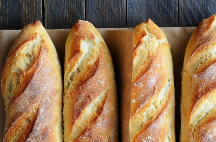BAGUETTE WITH BRUNS NATURAL IMPROVER
