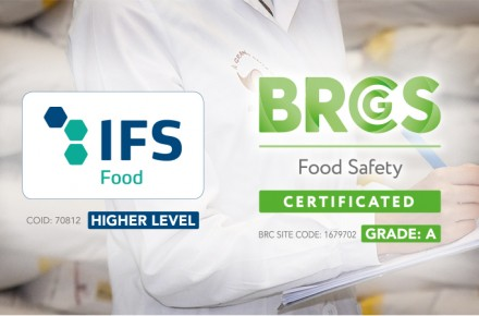 NEW BRC AND IFS CERTIFICATIONS FOR IL GRANAIO DELLE IDEE