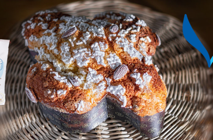 Easter Colomba recipe with our new complete mix for large leavened cakes: Volare®