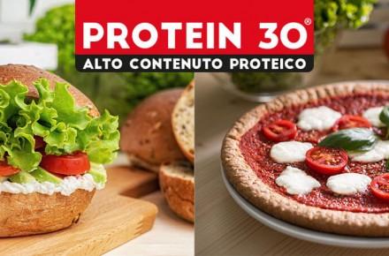 Nuova linea Protein 30 ®: due mix ad etichetta pulita, per pane e pizza proteici e ricchi di gusto