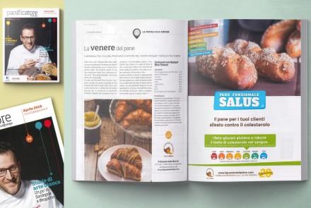 il panificatore - ricetta e pagina pubblicitaria (aprile 2018)