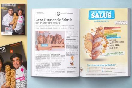IL PANIFICATORE - REDAZIONALE E PAGINA PUBBLICITARIA (GENNAIO 2019)
