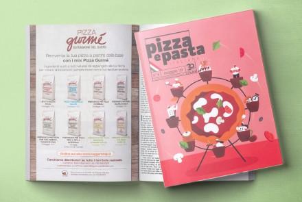 PIZZA E PASTA ITALIANA - PAGINA PUBBLICITARIA LINEA PIZZA GURMÈ (MAGGIO 2019)