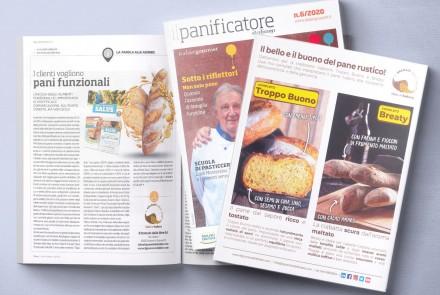 """Il Panificatore Italiano"" magazine – article (September 2020)"