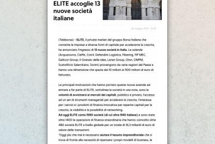 Repubblica Economia & Finanza - article (may 2021)