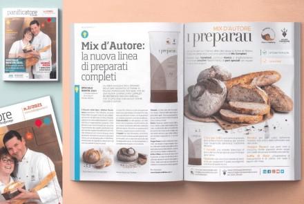 """""""IL PANIFICATORE ITALIANO"""" MAGAZINE – ARTICLE AND ADV (MARCH 2021)"""