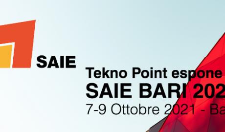 Tekno Point è espositore a SAIE Bari 2021 | 7-9 ottobre 2021
