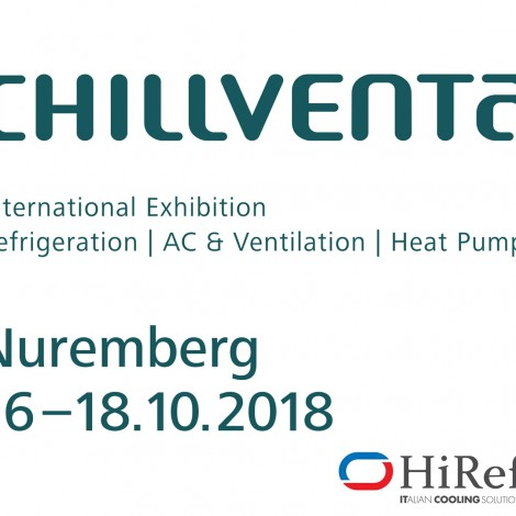 16-18 October 2018: HiRef @ Chillventa