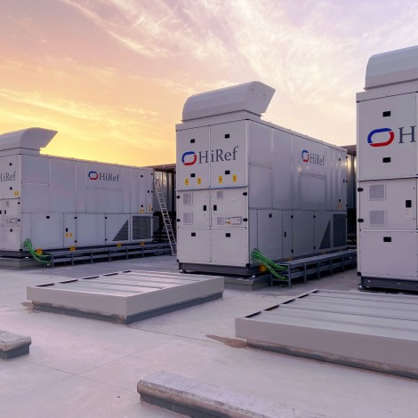 Hiref's adiabatic Free-Cooling in one of Europe's most advanced Data Centres