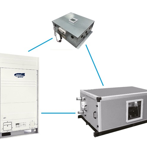 CONNECTION KIT FOR AHU