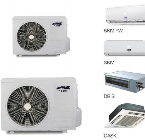 Condizionatore a pompa di calore - MULSTISKY