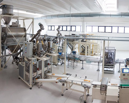 Production lines: paper canisters line and double packaging machine for multi-layer packs