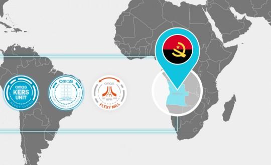 Un nuovo impianto Omas Industries entrerà in funzione in Angola a Luglio 2021. Produrrà 600ton in 24ore
