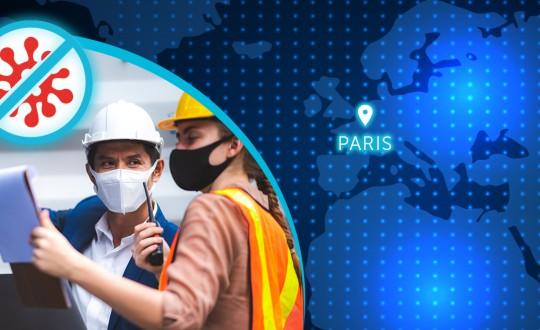 La COVID-19 no detiene la instalación de la mayor planta de molienda de París
