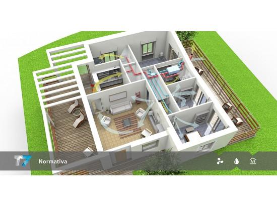 Ventilazione Residenziale e norma CEN TR 14788: il dimensionamento degli impianti