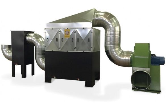 Filtri statici per nebbie oleose