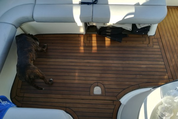 Teak per pavimentazione barca
