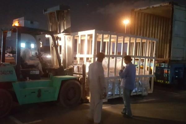 Logistica integrata negli Emirati - operazione LABEL PHARMA