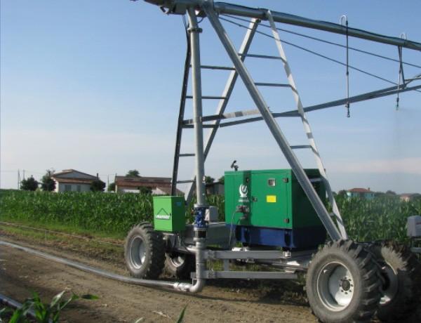 GRUPPO ELETTROGENO 40 KVA per movimentazione sistema irrigazione pivot